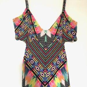 Mara Hoffman Geometric Maxi Dress